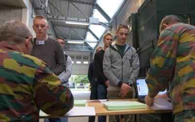 17 september 2019: Inlijving van het Departement Militaire Vorming (DMV)