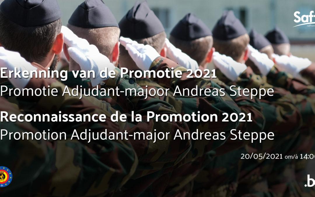 Reconnaissance de la promotion 2021